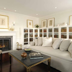 contemporary living room by Charlie Allen Restorations Inc