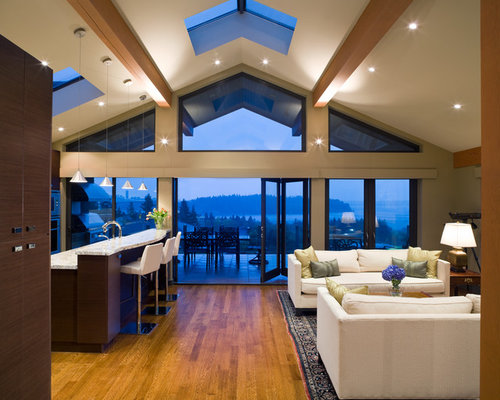SaveEmail - Vaulted Ceiling Beams Houzz