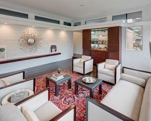 Mid Century Living Room Ideas midcentury modern living room ideas & design photos | houzz