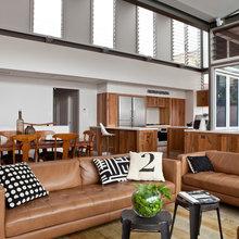 Caramel leather sofa or chair