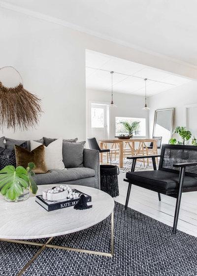 Contemporary Living Room by Bone Made