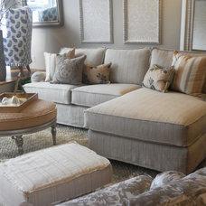Beach Style Living Room by Quatrine Custom Furniture
