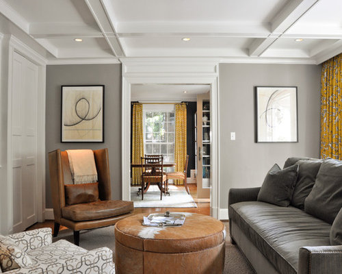 gray and tan living room brown gray walls houzz 18117