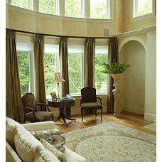 Traditional Living Room by O'Sullivan Architects, Inc