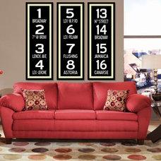 Modern Living Room by JR Ramsay IV