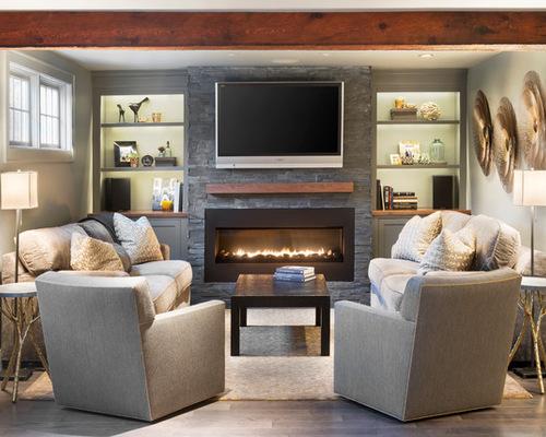 Furniture Arrangement Around FireplaceHouzz