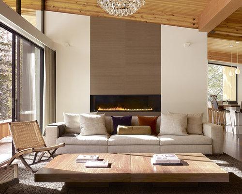 Tende moderne per soggiorno - Foto e idee | Houzz