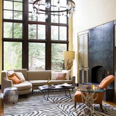 Contemporary Living Room by Studio 80 Interior Design