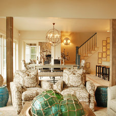 Traditional Living Room by Van's Lumber & Custom Builders, Inc.