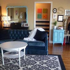 Eclectic Living Room summer