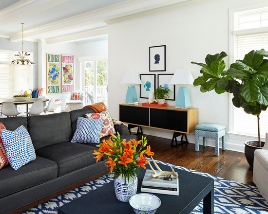 Orange Gray Blue Living RoomOrange Gray Blue Living Room   Houzz. Gray And Orange Living Room. Home Design Ideas