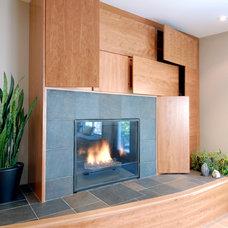 Contemporary Living Room by Southam Design Inc