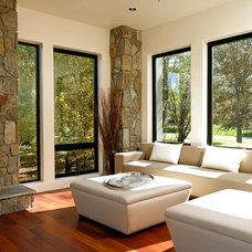 Contemporary Living Room by KohlMark Architects and Builders