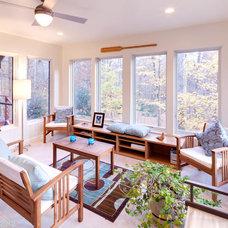 Traditional Living Room by Sterling E. Stevens Design Photo