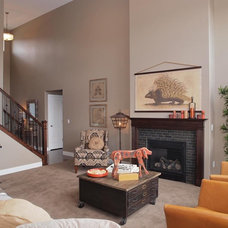 Contemporary Living Room by Candlelight Homes