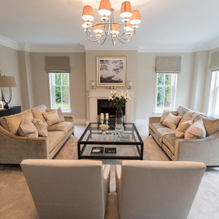 Taupe Living Room | Houzz