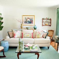 Traditional Living Room by Ingrid Porter Interiors, LLC