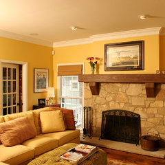 traditional living room by Normandy Remodeling