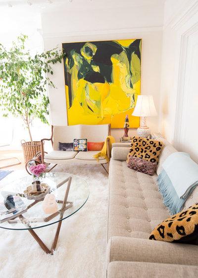 Ecléctico Salón by Daphne Nauleau Interior Design