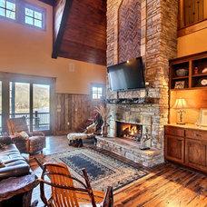 Traditional Living Room by Timberlake Custom Homes, LLC