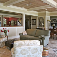 Traditional Living Room by DNW Design