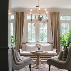 Traditional Living Room by Colleen Price