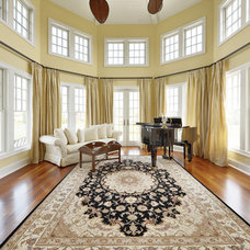 traditional living room by Echelon Custom Homes