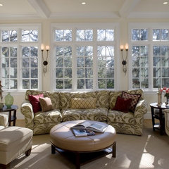 traditional living room by Melville Thomas Architects, Inc.