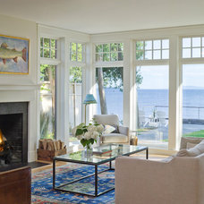 Traditional Living Room by Birdseye Design