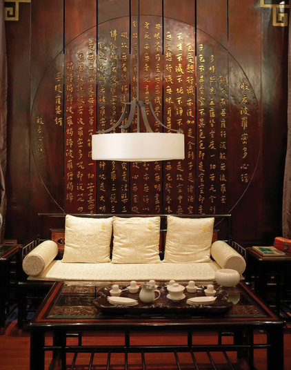 Asian Living Room by 1800Lighting