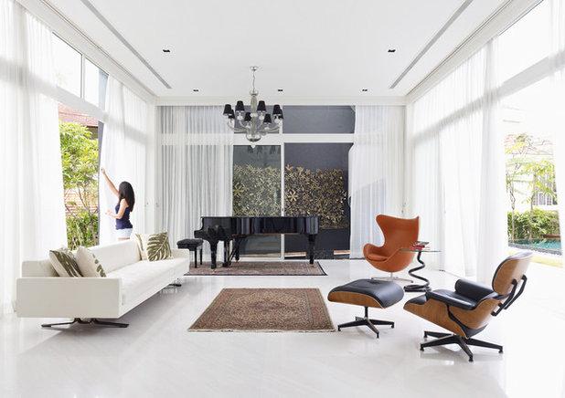 Modern Living Room by TOPOS Design Studio Pte Ltd