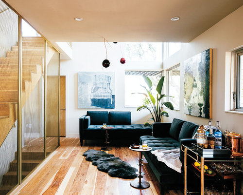 Midcentury Living Room Design Ideas Remodels Photos Houzz