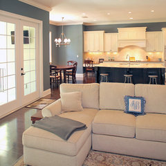 traditional living room by Devonshire Custom Homes