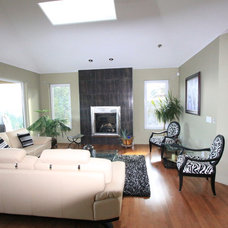 Contemporary Living Room by Design & Decor By Shelley