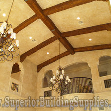 Mediterranean Living Room by Superior Building Supplies