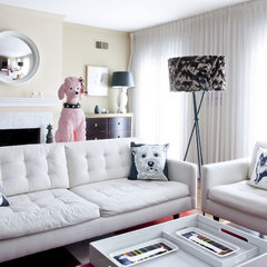 eclectic living room by Supon Phornirunlit / Naked Decor