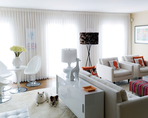 Jonathan adler curtains houzz for B q living room curtains