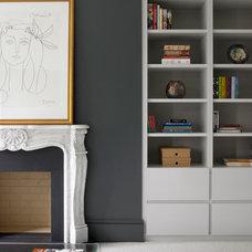 Contemporary Living Room by Brayer Design