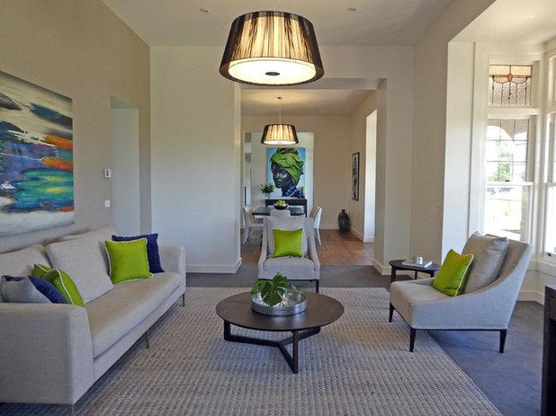 Contemporary Living Room by Style Precinct