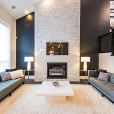 Contemporary Living Room by Douglas Williams Photography