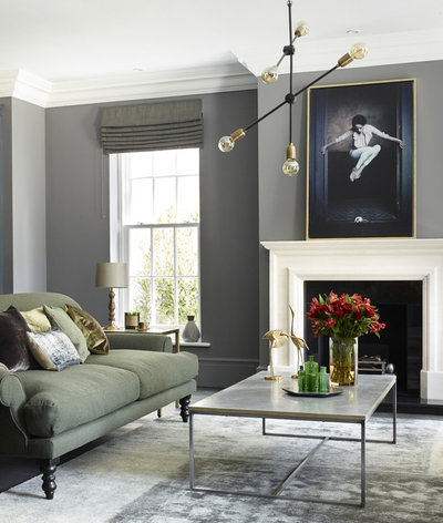Transitional Living Room by LOVE INTERIORS