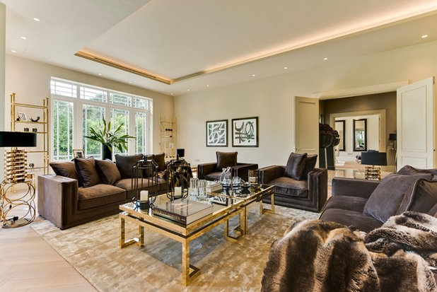 Contemporary Living Room by Lynda Raftery Interior Design