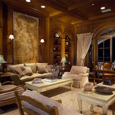 Traditional Living Room by Susan Cohen Associates, Inc.