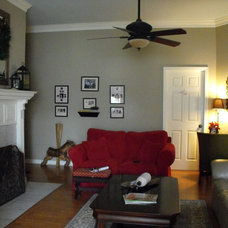 Traditional Living Room by Susie Harris