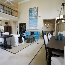 Beach Style Living Room by Susie Ralls Designs