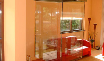 Suspended Glass Fireplaces