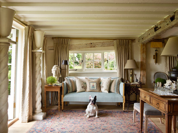 Country Living Room Sussex Farmhouse