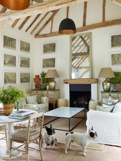 Farmhouse Living Room Sussex Farmhouse