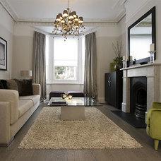 Contemporary Living Room by KR Interior Design