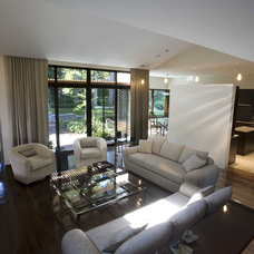 Contemporary Living Room by Narofsky Architecture + ways2design